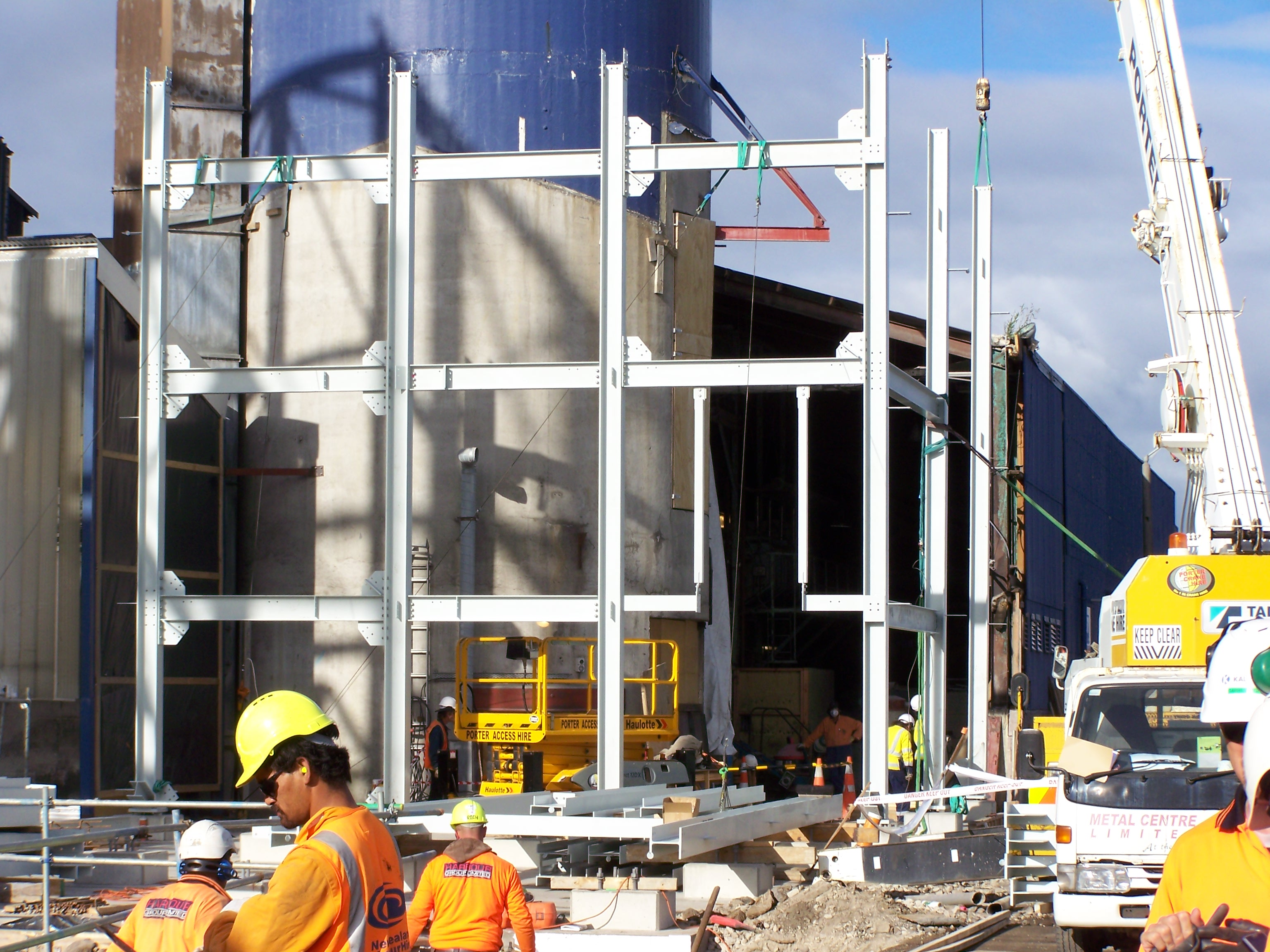 oi nz ak4 new facility construction key industries service engineers limited