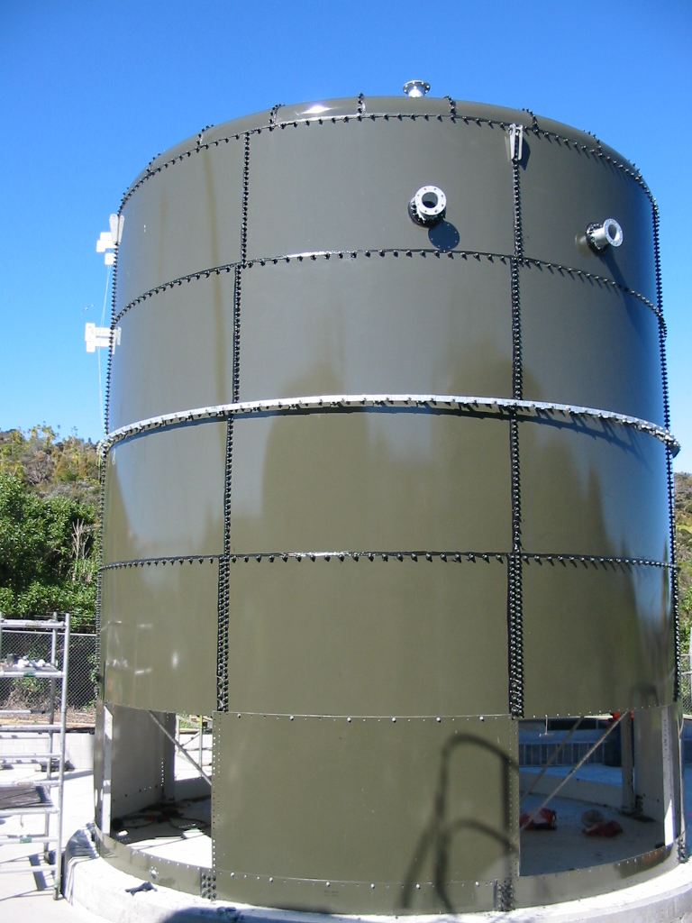 Army Bay Sludge Tank Replacement Waste Water Water